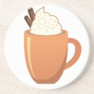 Hot Chocolate Drink Coaster