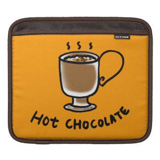 hot chocolate drink iPad sleeves