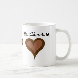 Hot Chocolate Hearts Coffee Mug