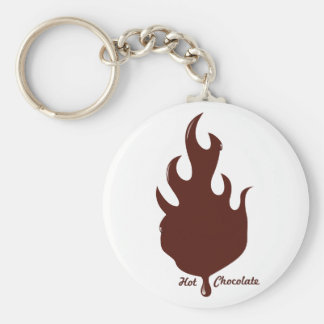 Hot Chocolate Keychain