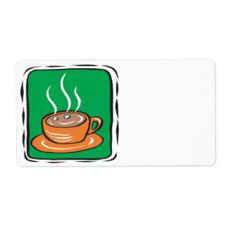 Hot Chocolate Shipping Label