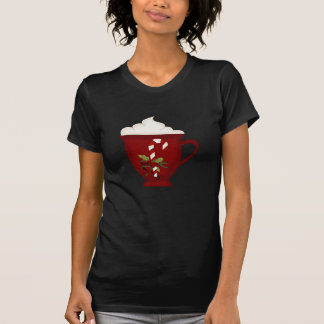 Hot Chocolate Lover Red with Green Tshirt