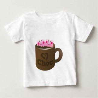 hot chocolate marshmallows baby T-Shirt