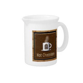 Hot Chocolate Pitcher
