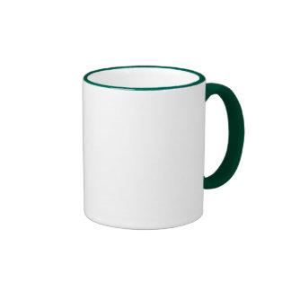 Hot Chocolate Snowman Ringer Coffee Mug