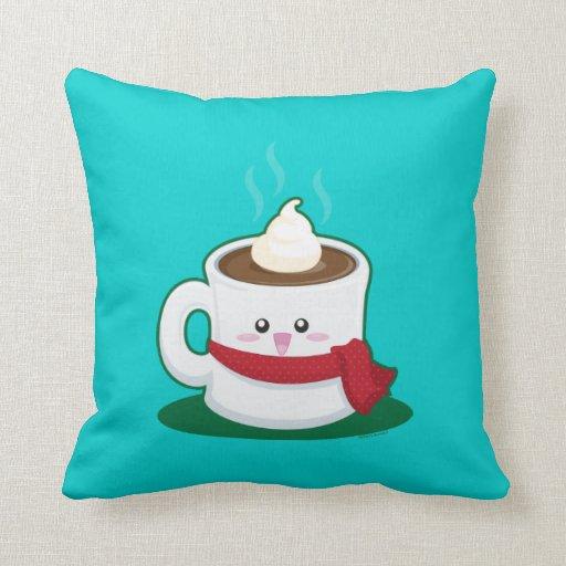 Hot Chocolate Throw Pillows