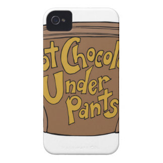 HOT-CHOCOLATE-UNDERPANTS-LOGO-1st-draft-2-29-2016. iPhone 4 Case