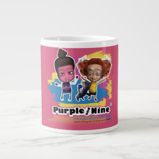 Hot Chocolate with Purple and Nine