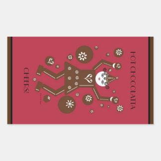 Hot Chocolatta Stickers © 2011 M. Martz