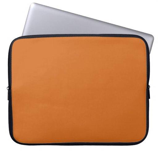 Hot Cinnamon Laptop Sleeve Electronics Bag
