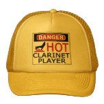 Hot Clarinet Player Hats