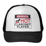 Hot Clarinet Player Mesh Hat