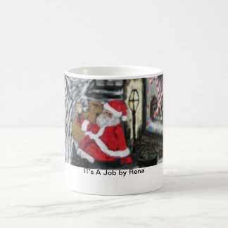 Hot Coco with for Santa! Classic White Coffee Mug