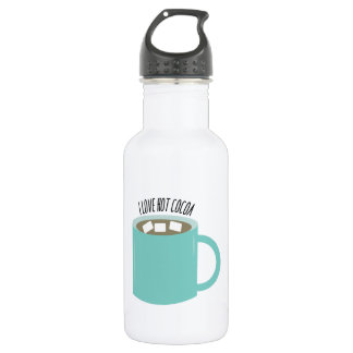 Hot Cocoa 18oz Water Bottle