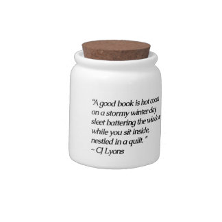 Hot Cocoa & A Book...Candy Jar Candy Jars
