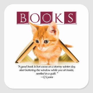 Hot Cocoa & A Good Book... Sticker