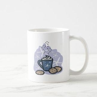 Hot Cocoa And Cookies Classic White Coffee Mug