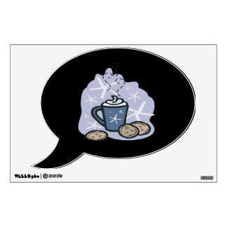 Hot Cocoa And Cookies Wall Sticker