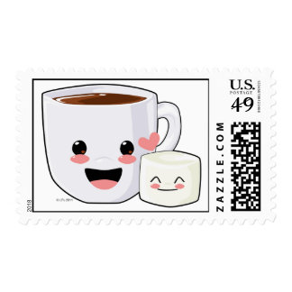 Hot Cocoa and Marshmallow Postage