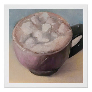 Hot Cocoa Chocolate Kitchen Comfort Food and Drink Poster
