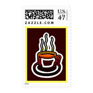 Hot Cocoa Coffee Cup Postage