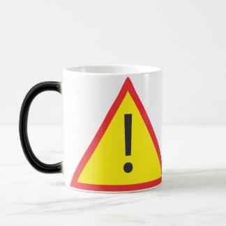 Hot Coffee 11 Oz Magic Heat Color-Changing Coffee Mug