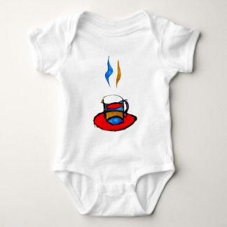 hot coffee baby bodysuit