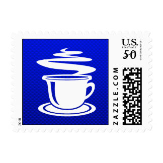 Hot Coffee; Blue Postage