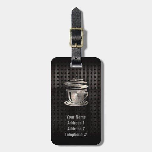 Hot Coffee; Cool Bag Tags