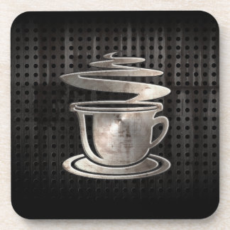 Hot Coffee; Cool Beverage Coaster