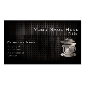 Hot Coffee; Cool Double-Sided Standard Business Cards (Pack Of 100)