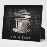 Hot Coffee; Cool Display Plaques