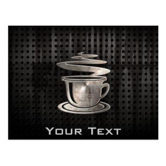 Hot Coffee; Cool Postcard