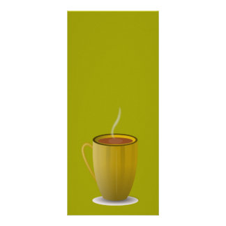hot coffee cup_Vector_Clipart Rack Card
