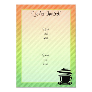 Hot Coffee design Card