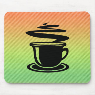 Hot Coffee design Mousepads