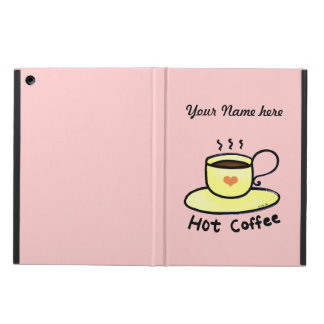 hot coffee iPad air case