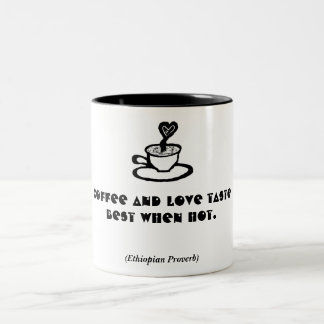 Hot Coffee Love Quote 2_Valentine Gift Mugs