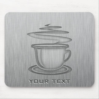 Hot Coffee; Metal-look Mouse Pad