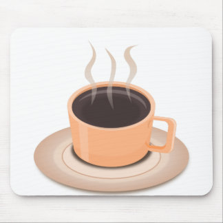 Hot Coffee Mouse Pad
