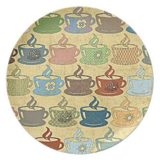HOT COFFEE OR TEA PLATE