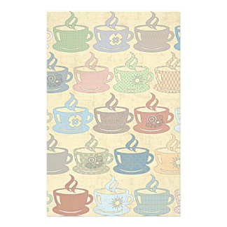 HOT COFFEE OR TEA STATIONERY