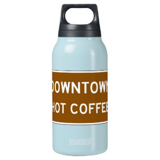 Hot Coffee, Road Marker, Mississippi, USA Insulated Water Bottle