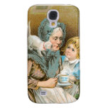 Hot Coffee Royal Java Vintage Drink Ad Art Samsung Galaxy S4 Covers