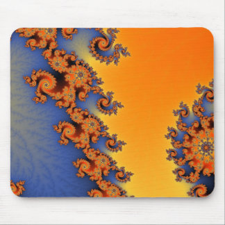 Hot Cold Lines Mousepad