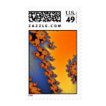 Hot Cold Lines Postage Stamp
