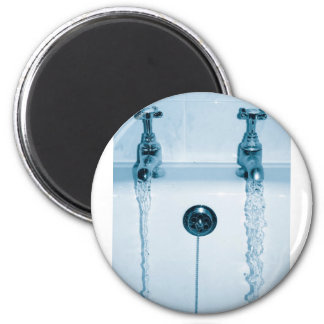 Hot & Cold Water, Bath time, Running Faucets Magnets