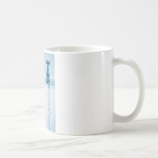 Hot & Cold Water, Bath time, Running Faucets Classic White Coffee Mug