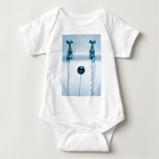 Hot & Cold Water, Bath time, Running Faucets T-shirts