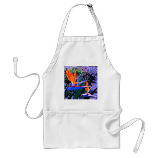 Hot Colors Bird-of-Paradise Adult Apron